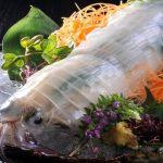 いかの墨、新潟駅近くにある郷土料理と魚、日本酒が楽しめるお店