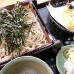 千葉県佐倉市、天せいろのエビが美味い!「民芸そば仁作」。