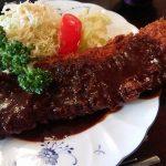 大阪のデカ盛りで有名な洋食屋さん弁天町のグリルミヤコ