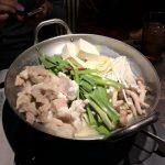 岩手県盛岡市、楽蔵 盛岡店にある味噌もつ鍋この時期おすすめ